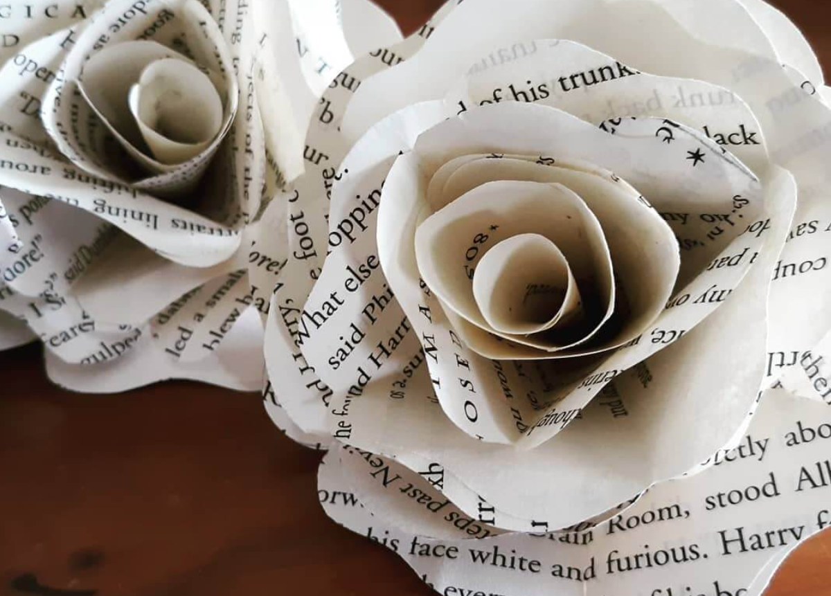 March 16: Paper Flowers with Pearl Uva (via Zoom)