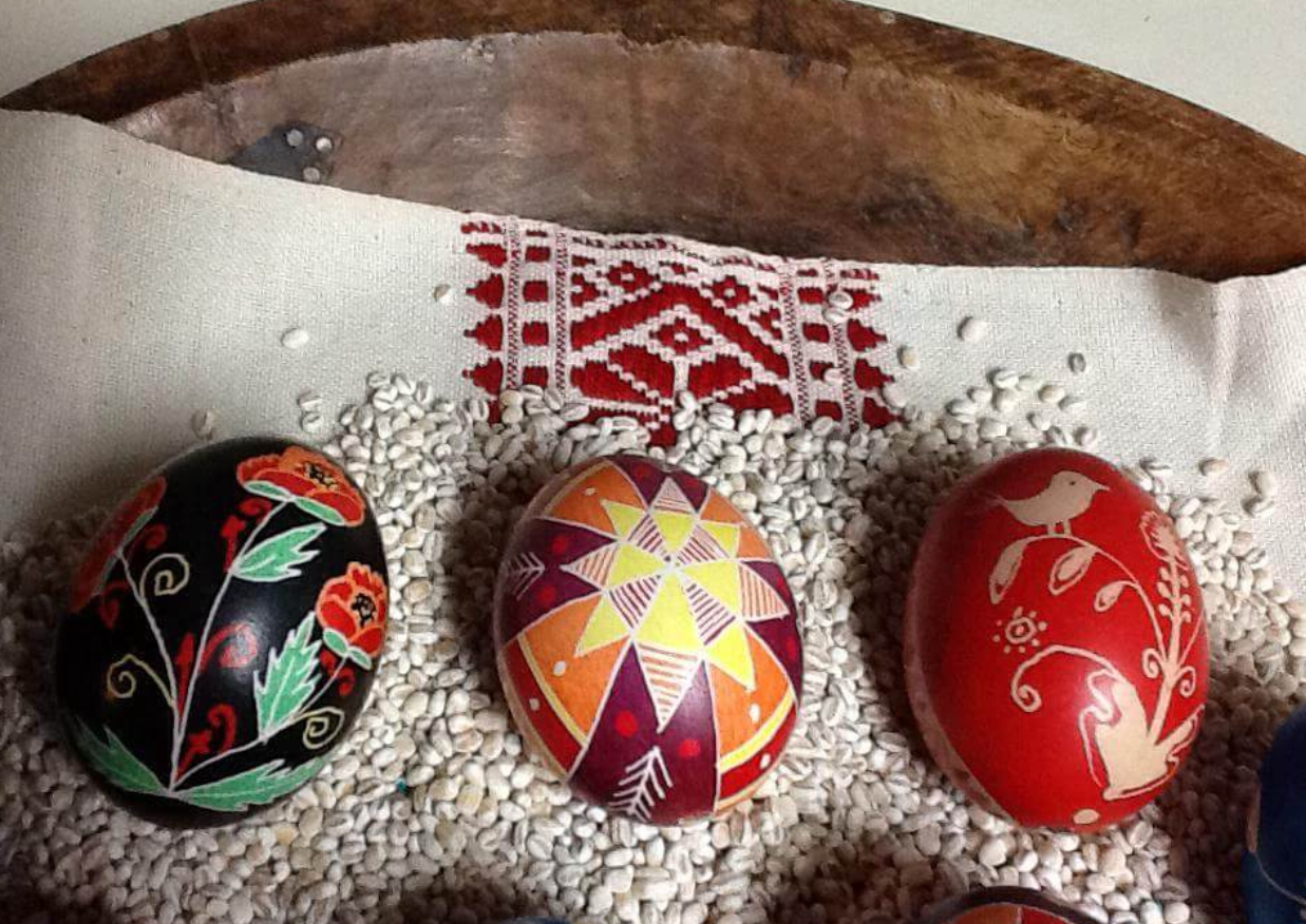 Mar 25 - Pysanky: Creating a New World Vision From Ancient Design with Coreen Weilminster (via Zoom)