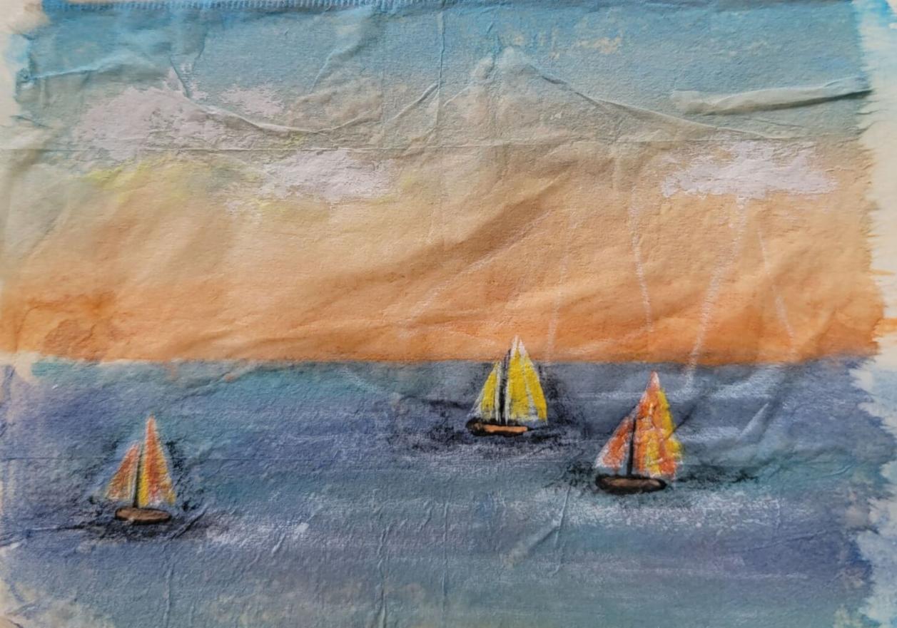 June 23: Painted Tea Bag with Brenda Foehrkolb (via Zoom)