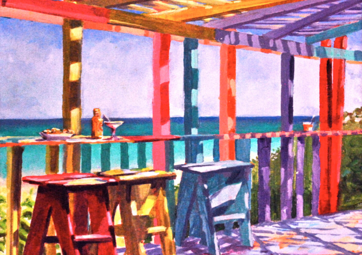 4 Tuesdays in September: Vibrant Acrylic Painting with Christine O'Neill (in person at ArtsAlive!)
