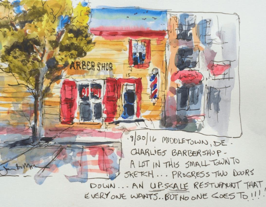 October 23, 30, & Nov 13: Watercolor Journaling with Jim Mahla