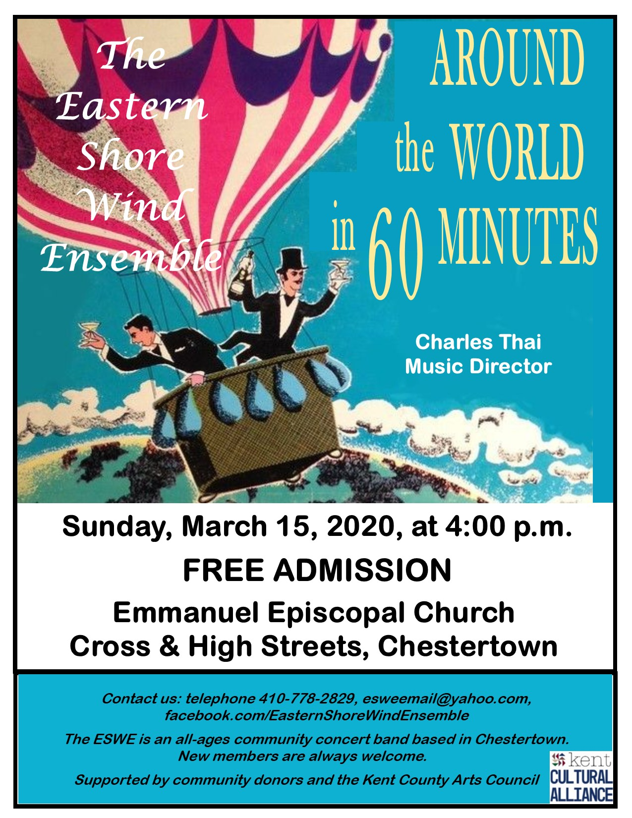 CANCELED: Around the World in 60 Minutes: A Free Band Concert