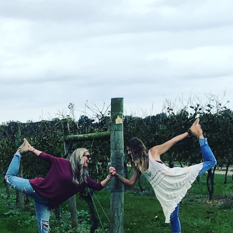 Wine & Yoga Happy Hour
