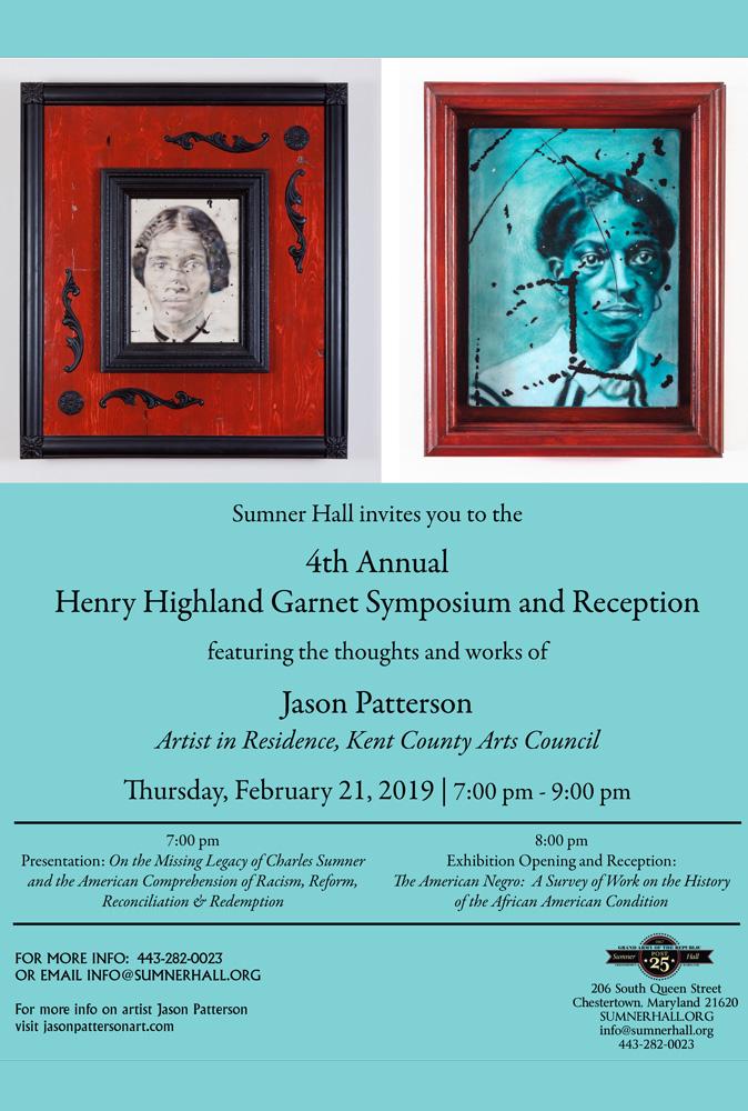 4th Annual Henry Highland Garnet Symposium & Reception