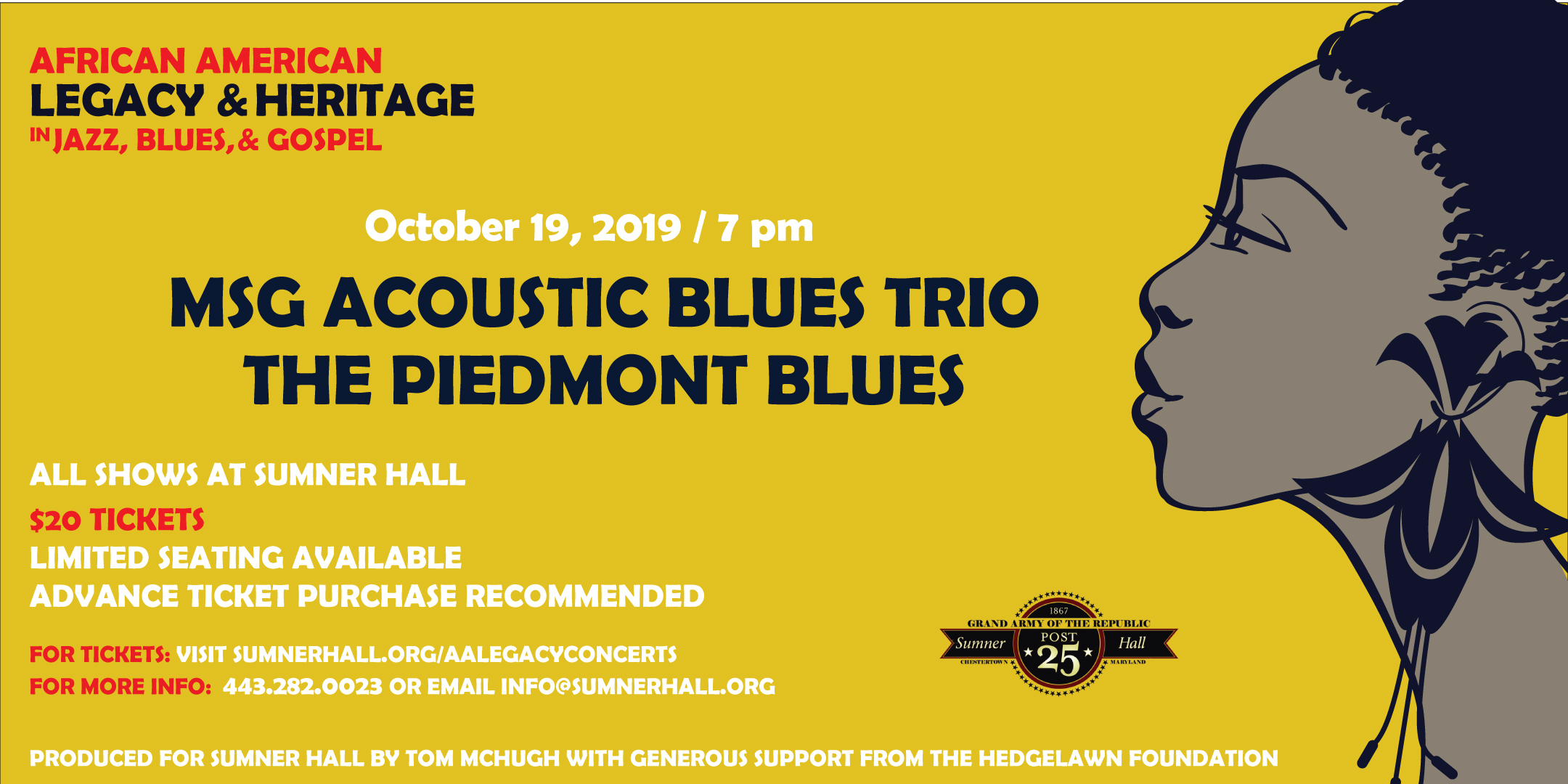 MSG Acoustic Blues Trio The Piedmont Blues