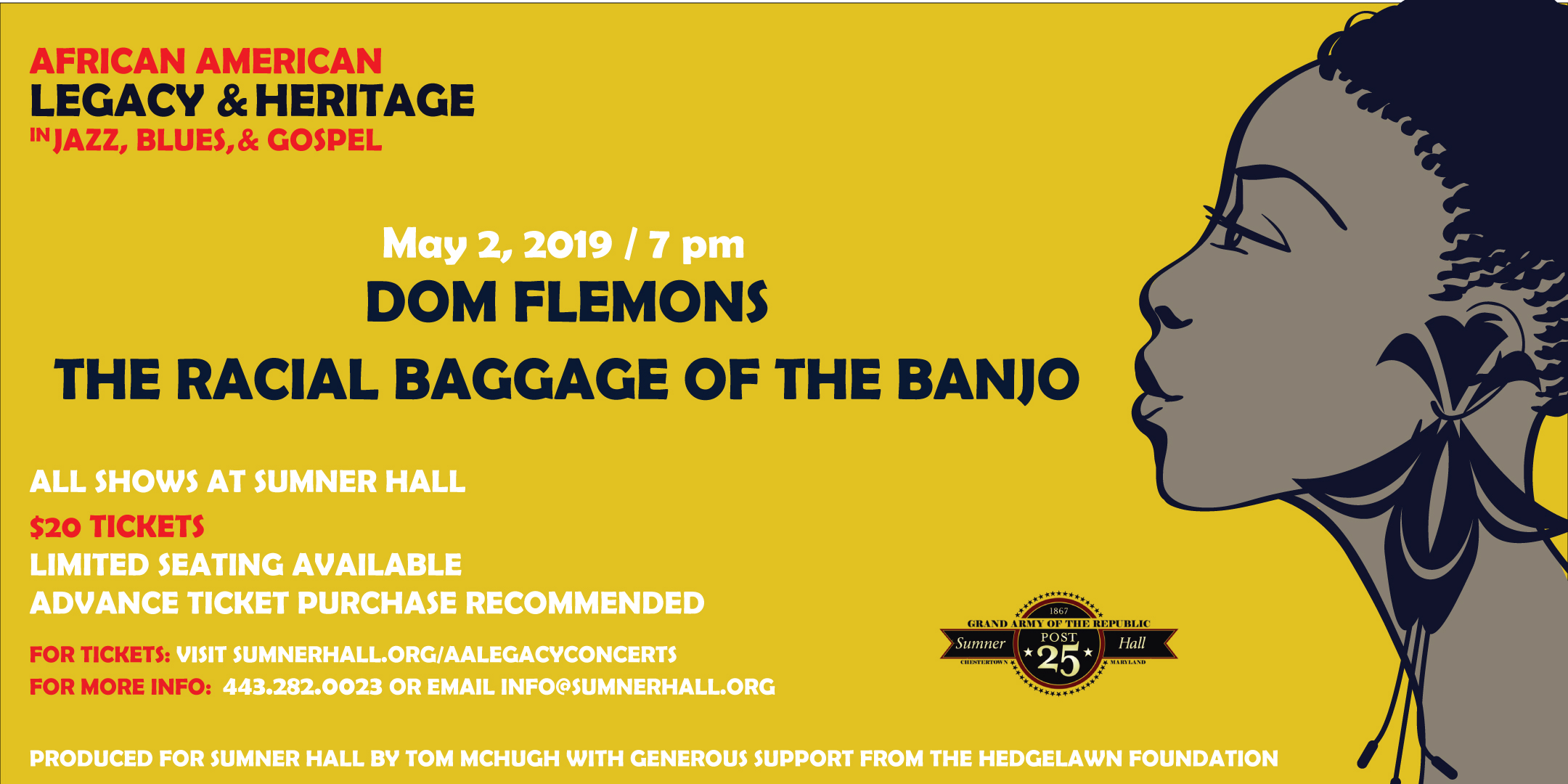 Dom Flemons The Radical Baggage of the Banjo