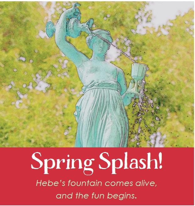 Spring Splash in Fountain Park
