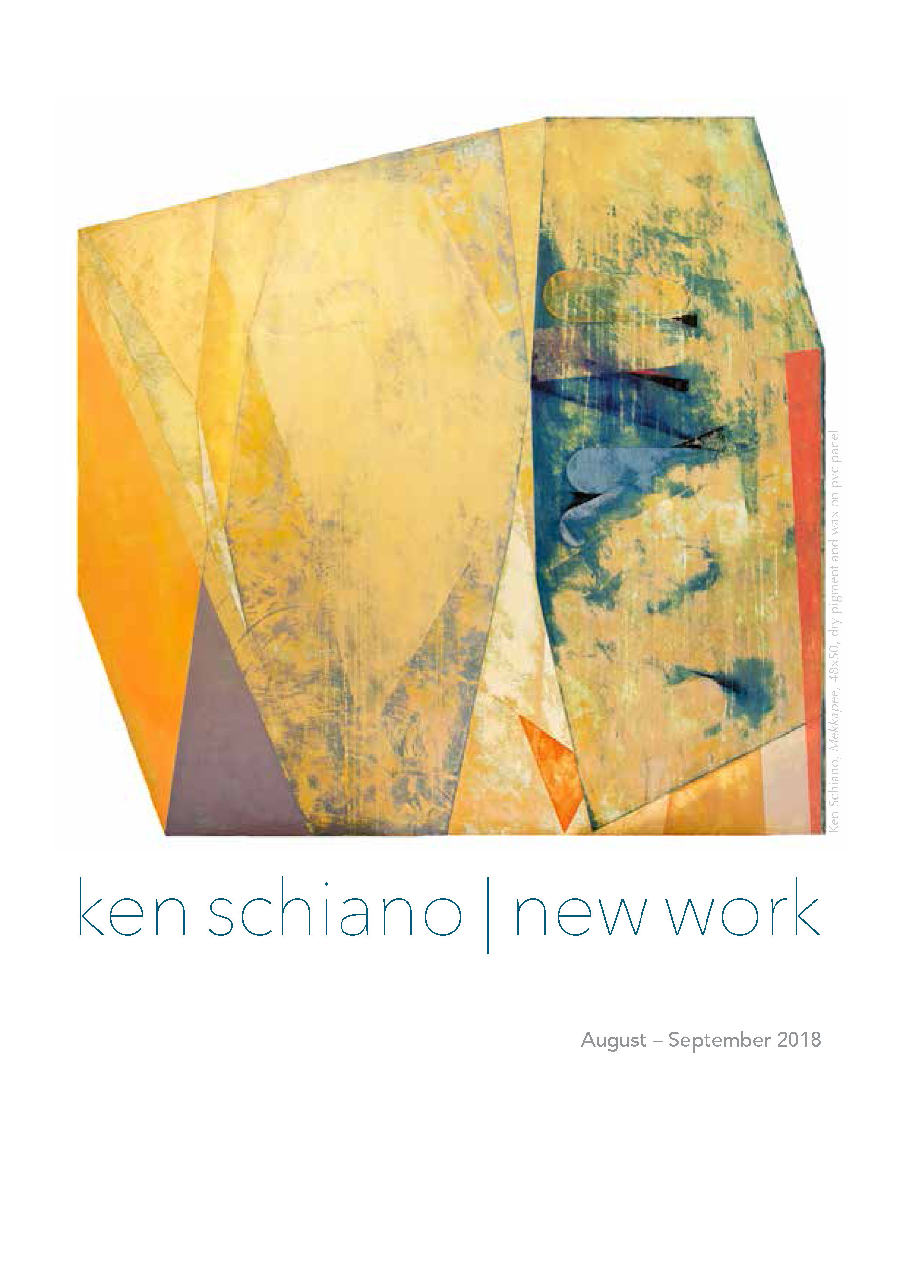 MassoniArt presents KEN SCHIANO