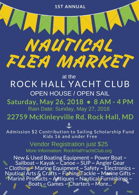 NAUTICAL FLEA MARKET!