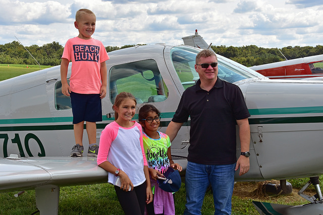 Kids Fly Free on Young Eagles Day at Massey Aerodrome