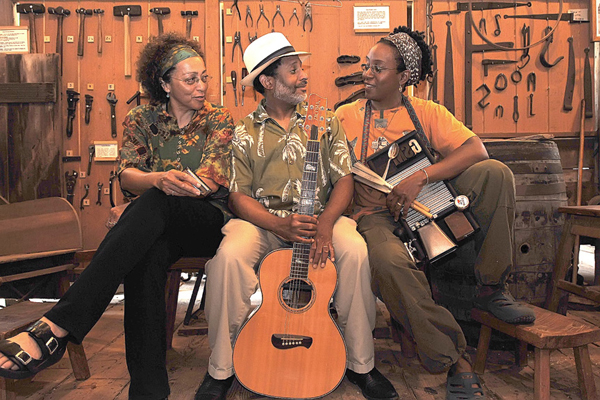 Martin Luther King Day Celebration featuring the M.S.G. Acoustic Blues Trio