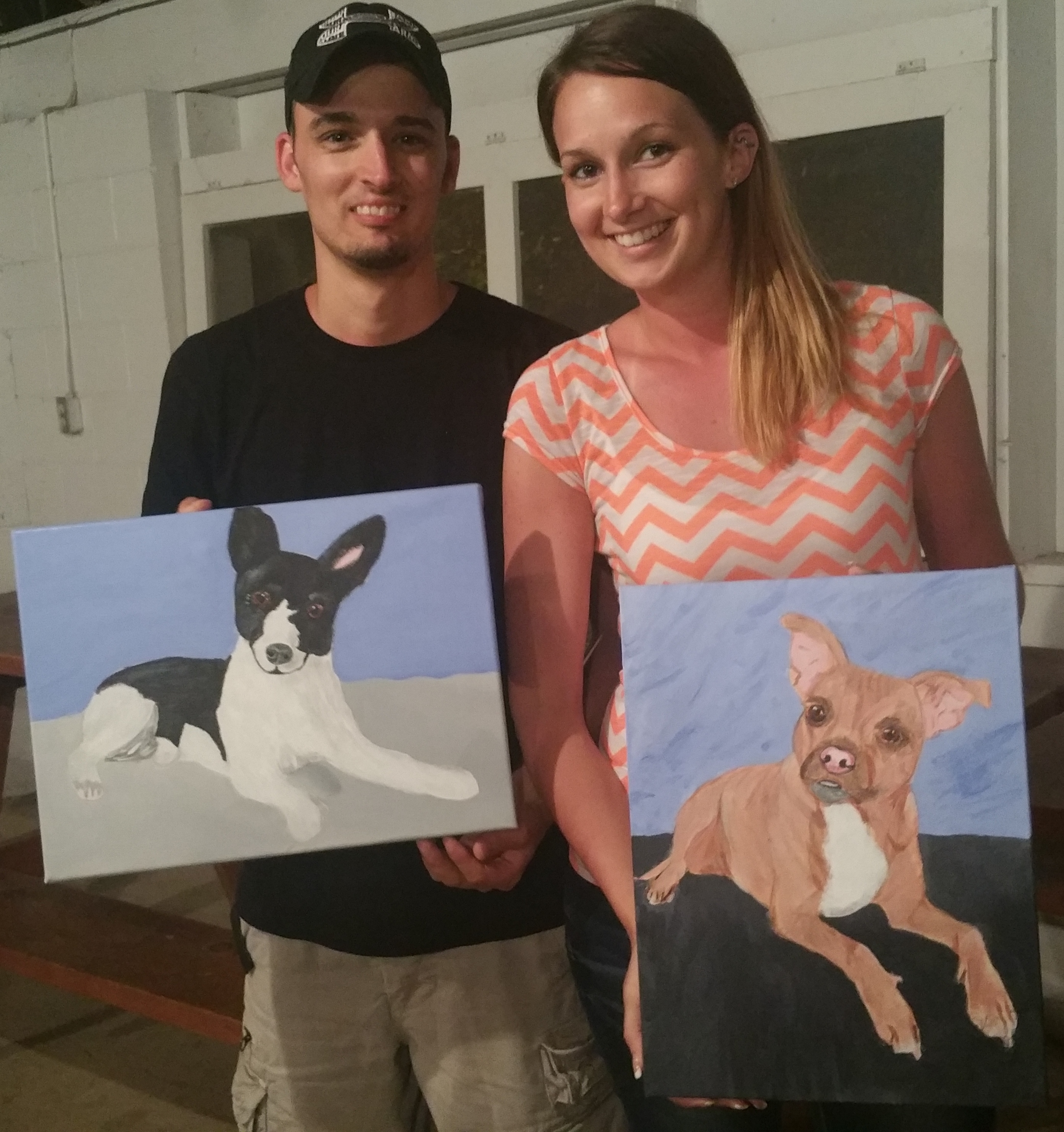 Painting Paws benefits The Humane Society of Kent County, MD