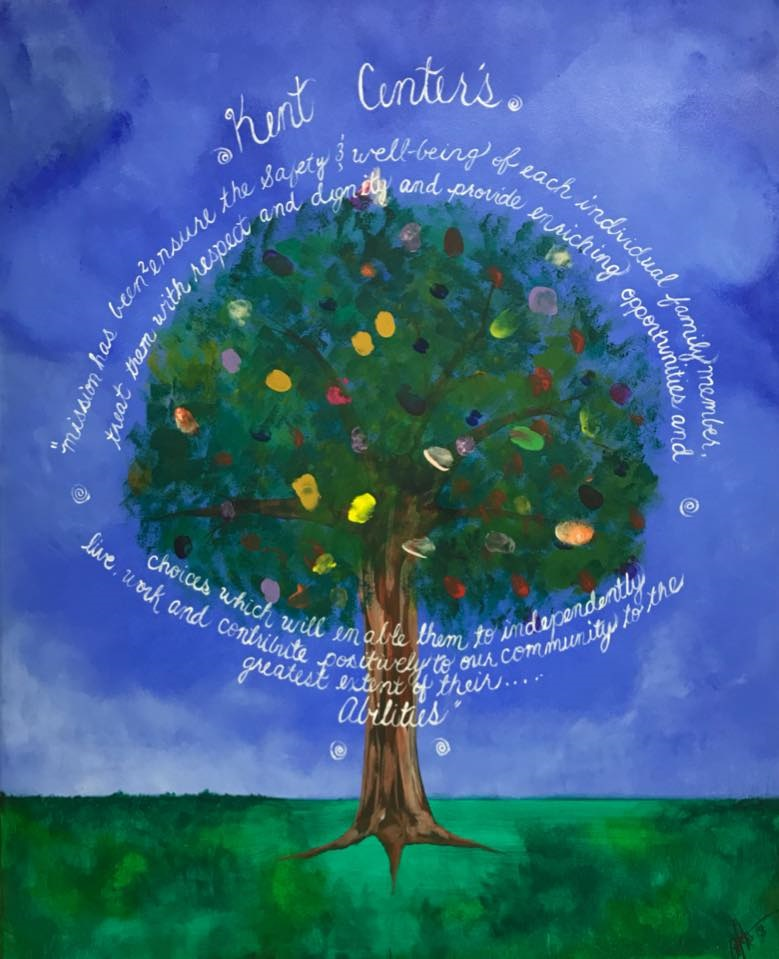 """Family Tree"" Paint Night for Kent Center"