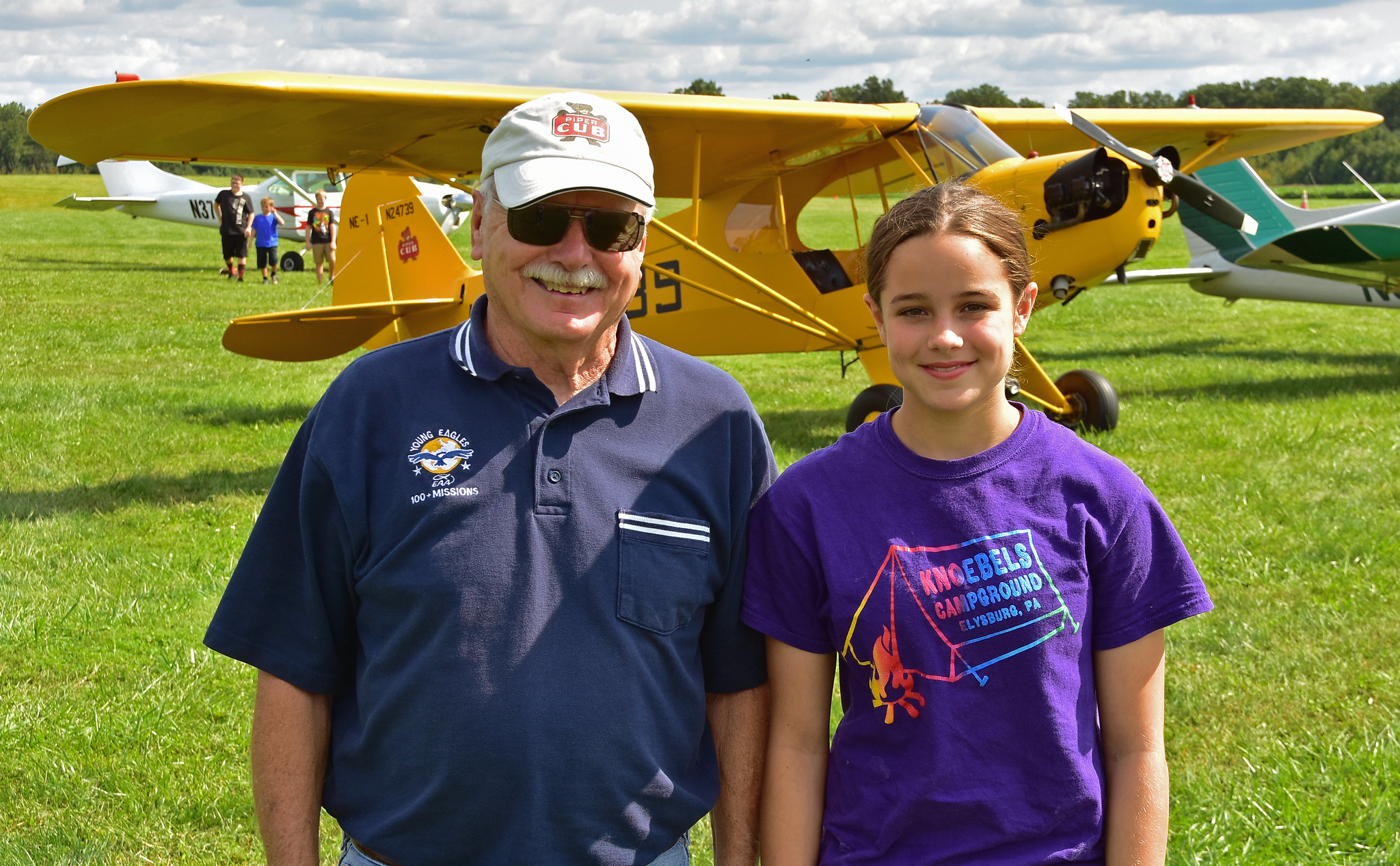 Young Eagles Day at Massey Aerodrome