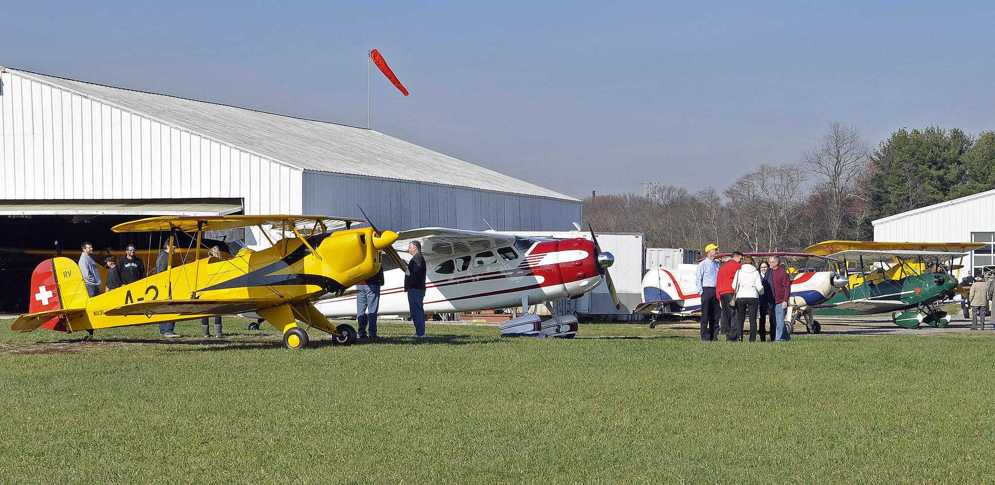 Massey Open Hangar Party & Fly-In