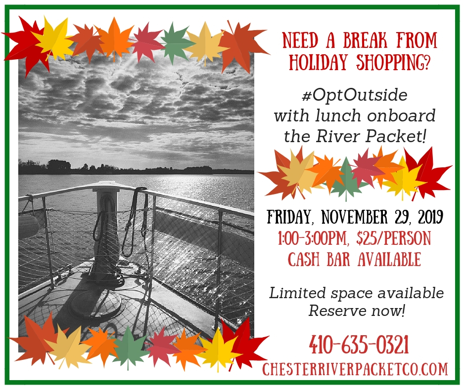 Opt Outside on Black Friday with the River Packet!