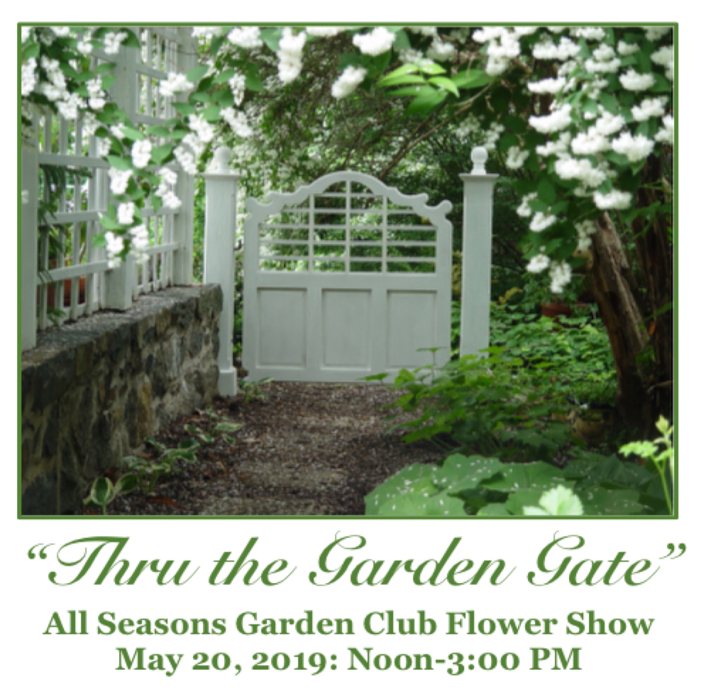 2019 All Seasons Garden Club Flower Show