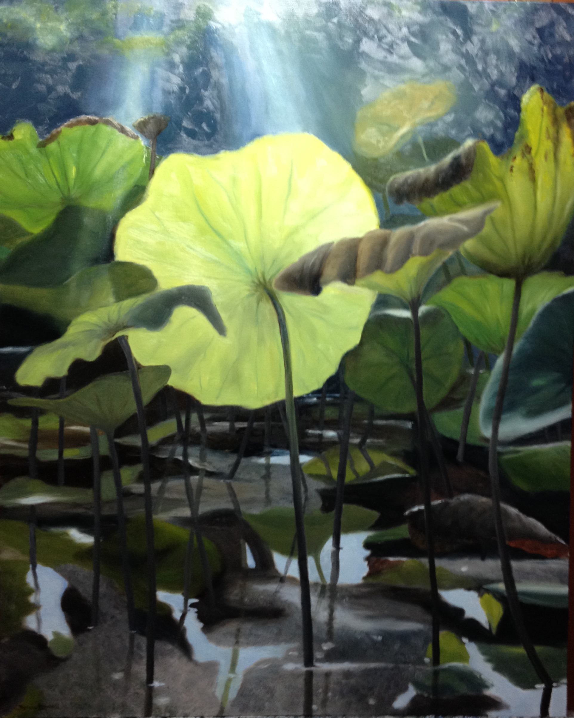 "The Artists' Gallery Features Bonnie Howell in ""Water Level"""