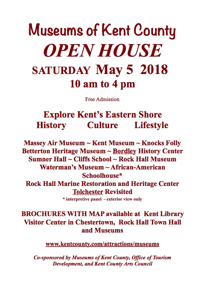 Kent County Museum Tour - Open House