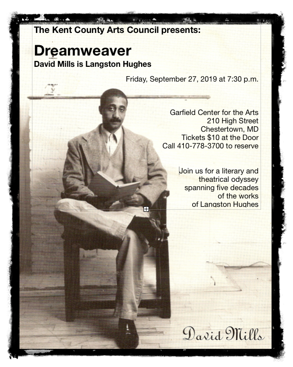 DREAMWEAVER: an Evening with Langston Hughes