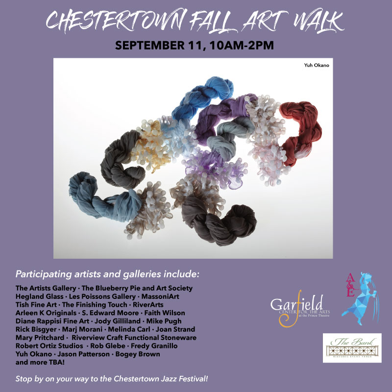 Chestertown A&E Fall Art Walk