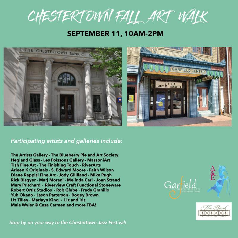 Chestertown A&E District - Fall ART WALK