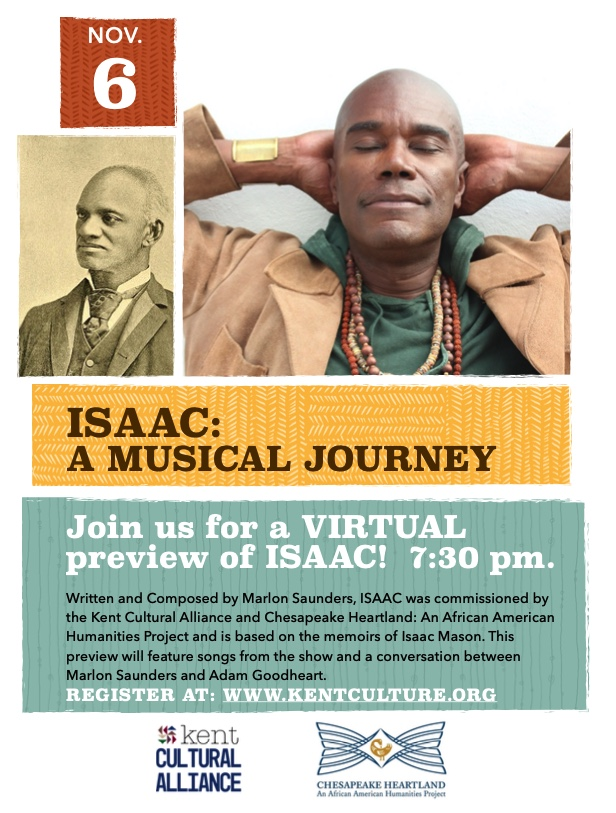 ISAAC - Premiere of new Musical by Marlon Saunders