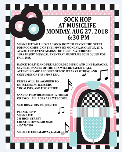 "1950's ""Sock Hop"" at MusicLife"