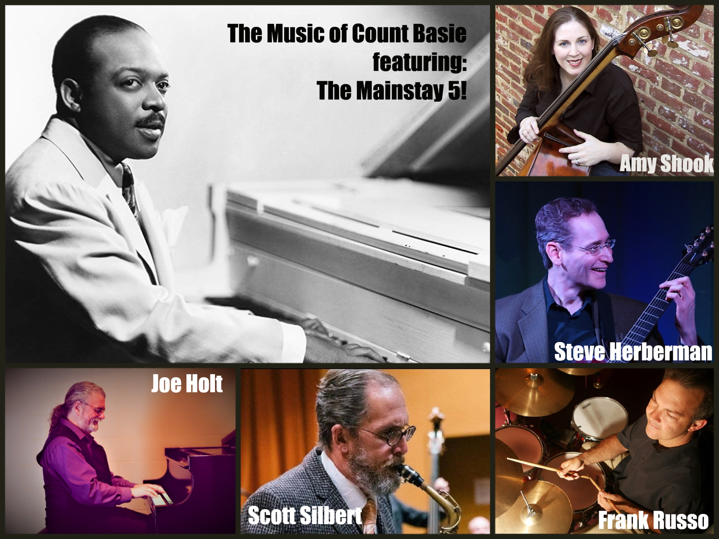 The Mainstay Monday 5 presenst a tribute to Count Basie