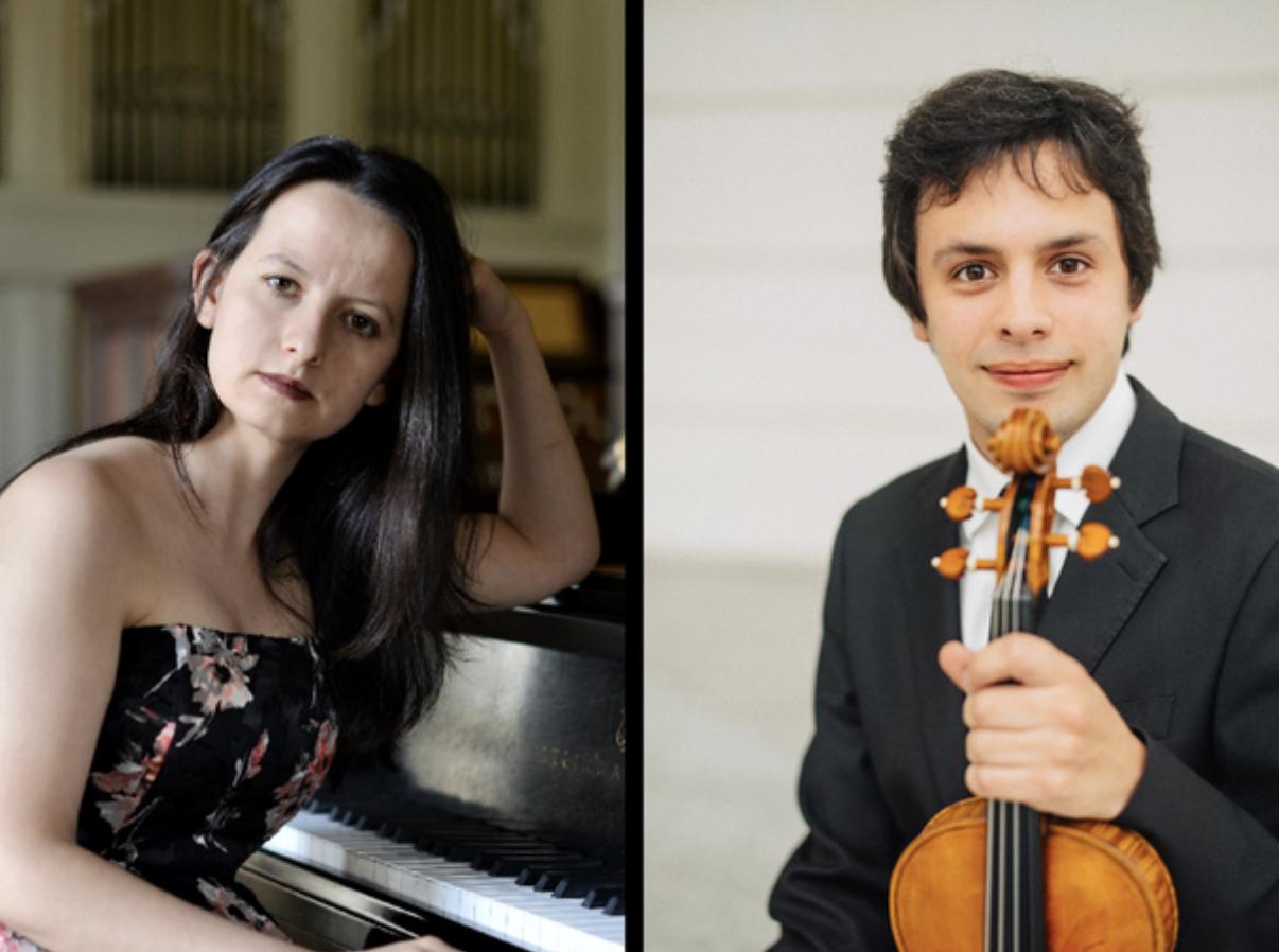 The Hedgelawn Classical Series presents pianist Teodora Adzharova and violinist Orest Smovzh
