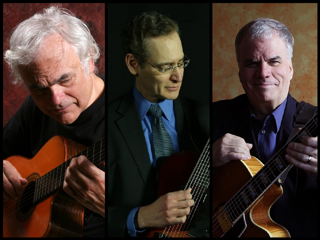 The Great Guitars with Gene Bertoncini, Steve Abshire, and Steve Herberman