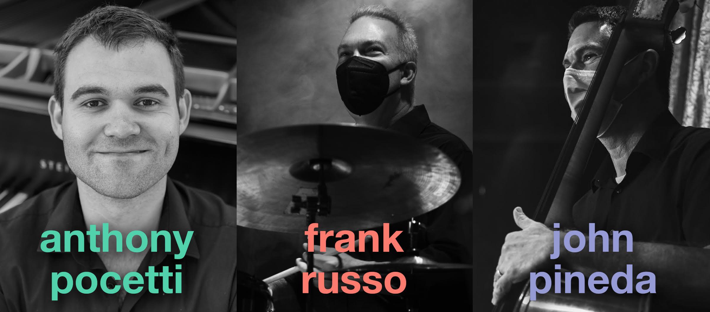 Anthony Pocetti Trio LIVESTREAM