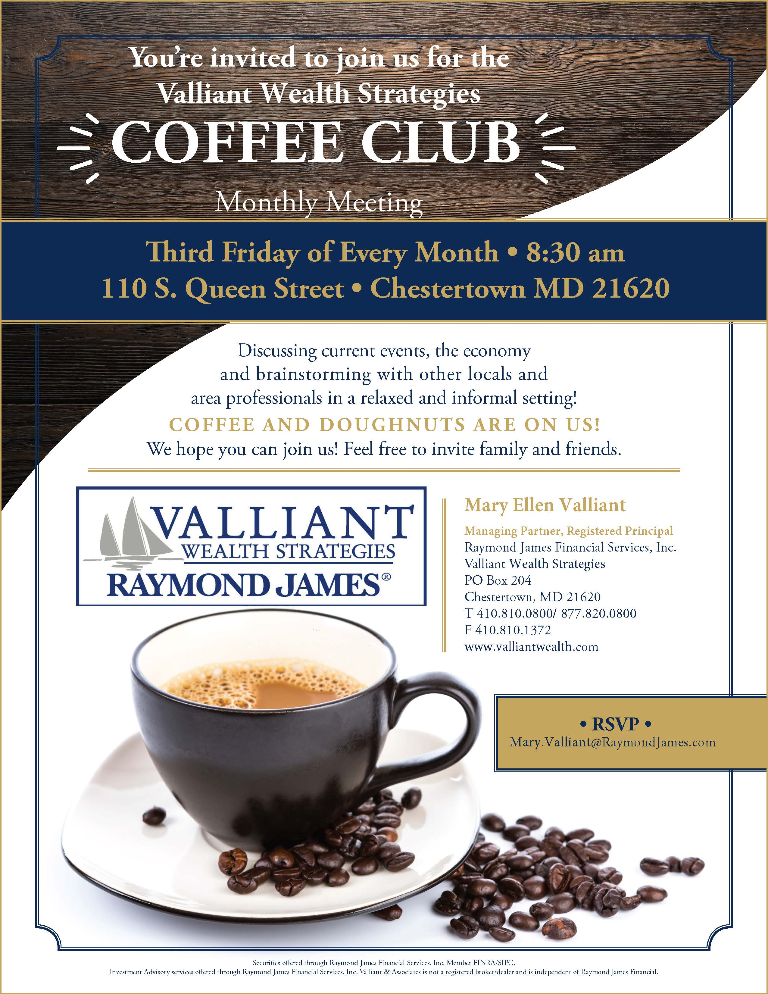 Valliant Wealth Strategies Coffee Club