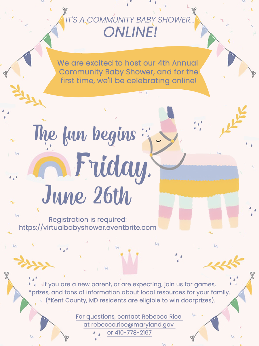 4th Annual Community Baby Shower...ONLINE!