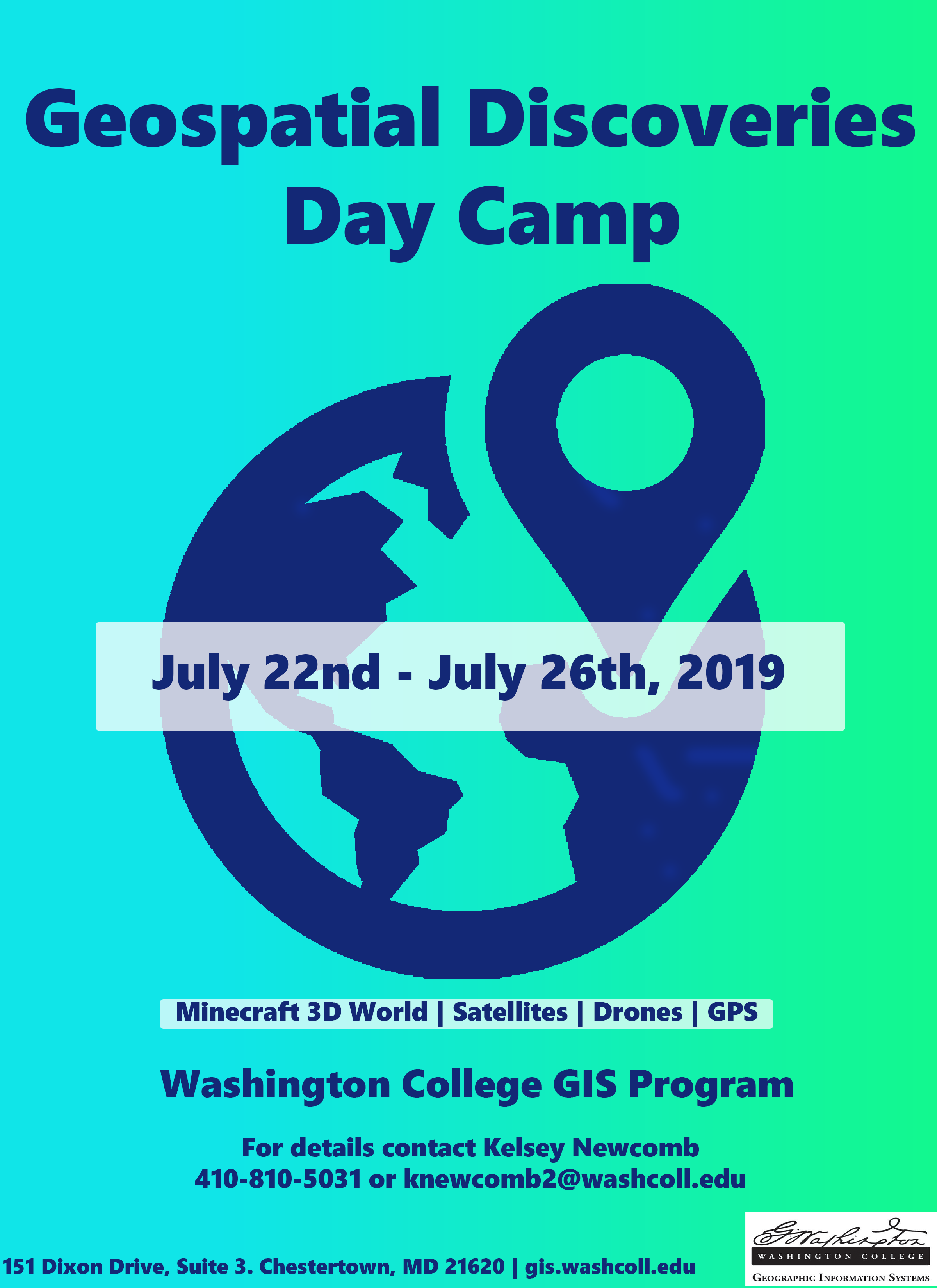 Geospatial Discoveries Day Camp