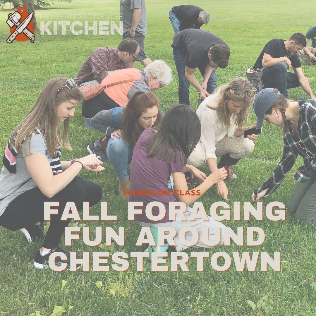 Fall Foraging Fun around Chestertown