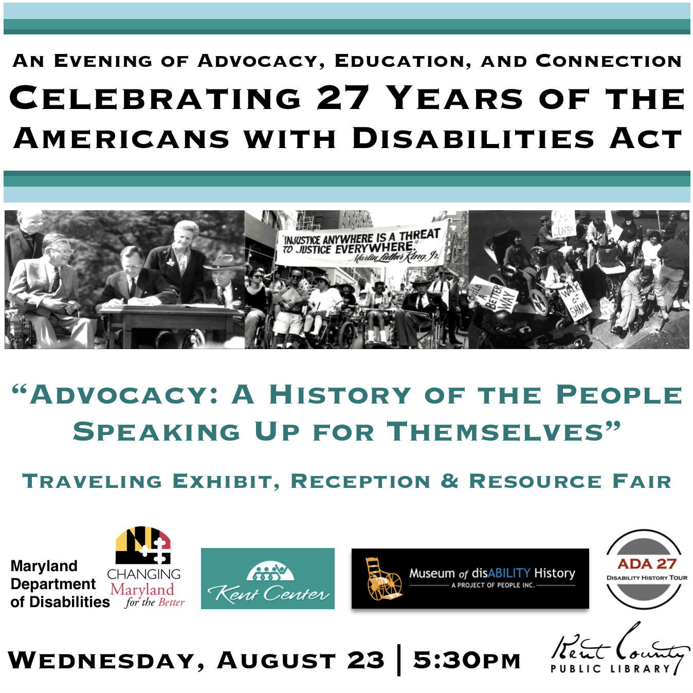 Reception: Celebrating 27 Years of the Americans with Disabilities Act