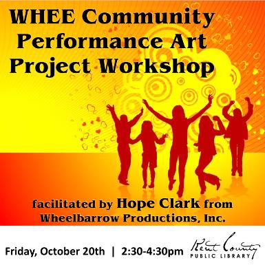 WHEE Community Performance Art Project Workshop