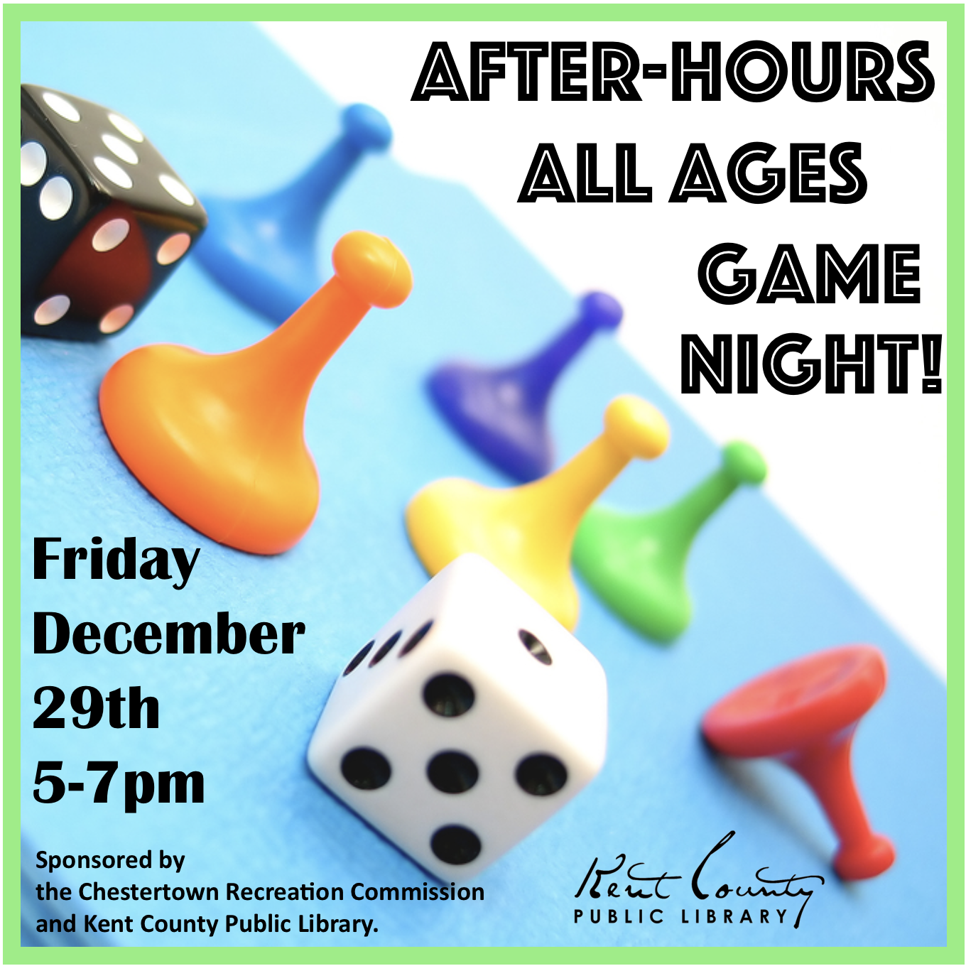 All Ages After - Hours Game Night!