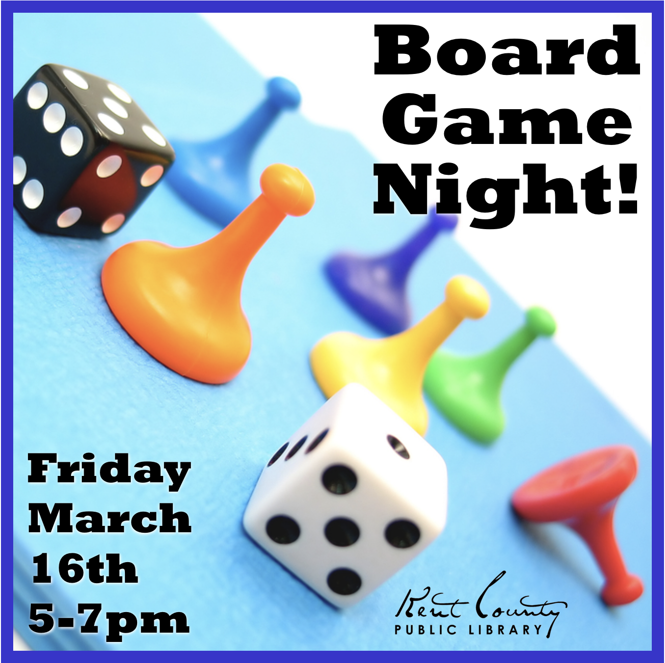 All Ages Board Game Night!