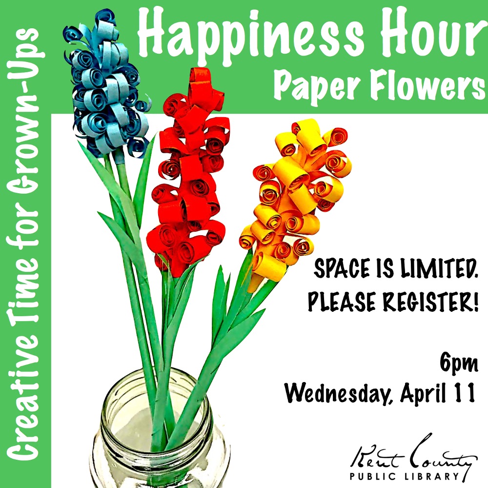 Happiness Hour: Paper Flowers