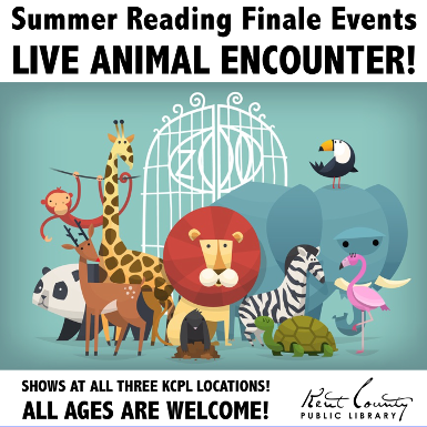 It's the Brandywine Zoo Live Animal Encounter!