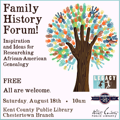 Family History Forum! Inspiration & Ideas for Researching African-American Genealogy