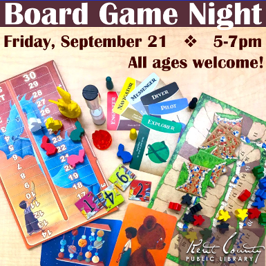 All Ages After-Hours Board Game Night
