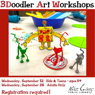 3Doodler  Art Wporkshop- Kids & Teens