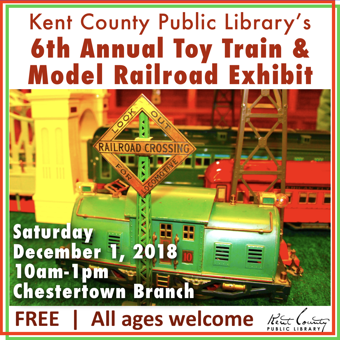 6th Annual Toy Train & Model Railroad Exhibit