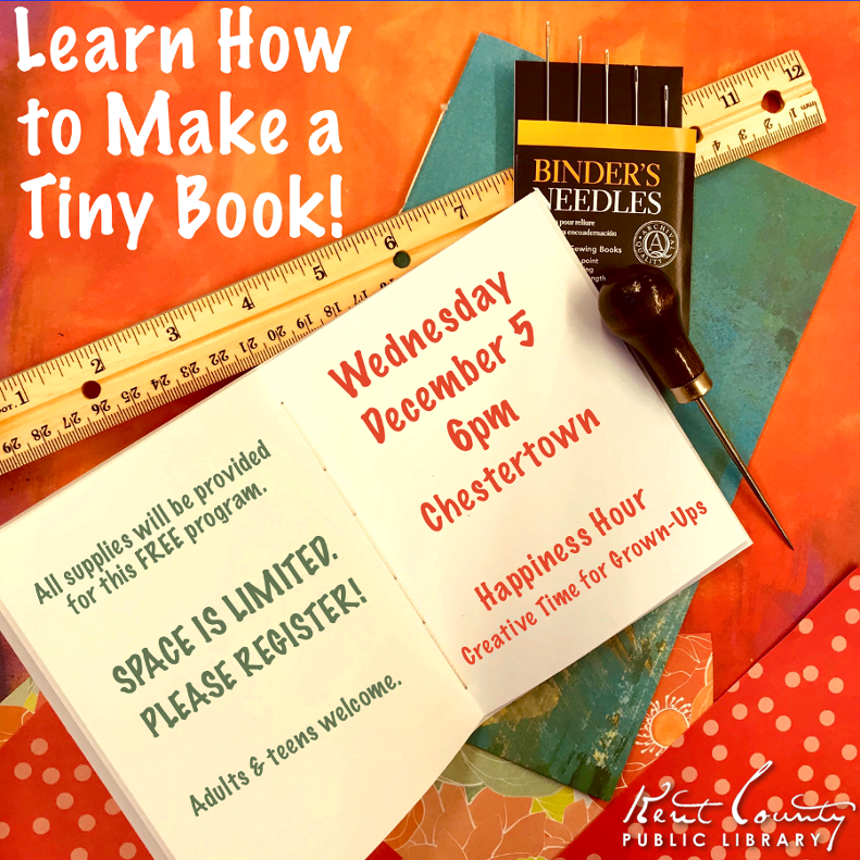 Happiness Hour: How to Make a Tiny Book!