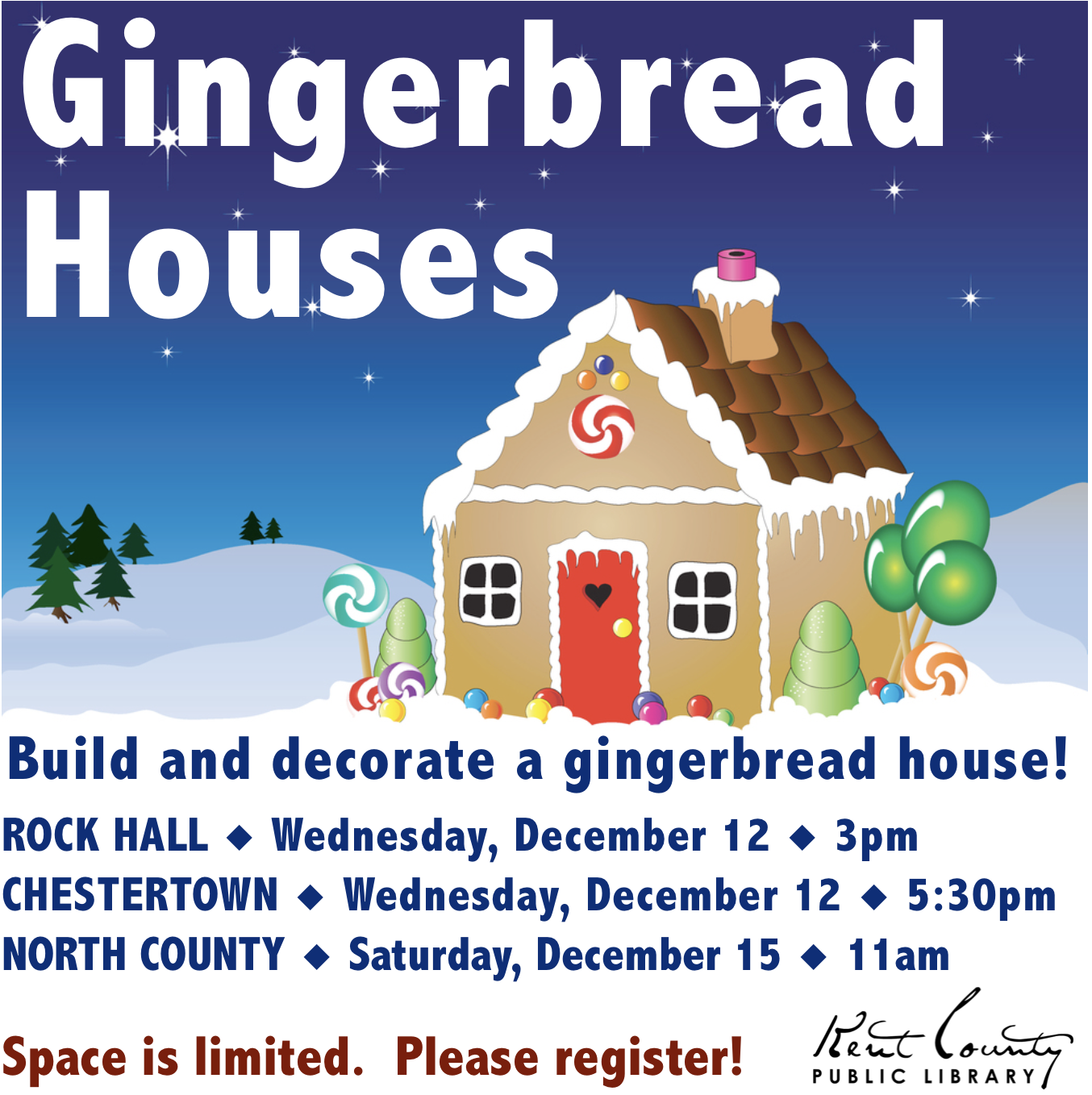 Gingerbread Houses in Rock Hall