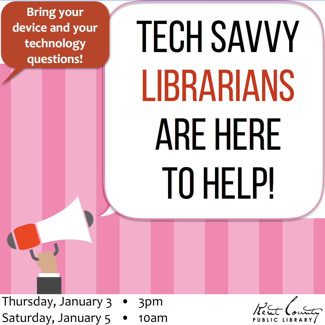 Tech Savvy Librarians Are Here to Help!