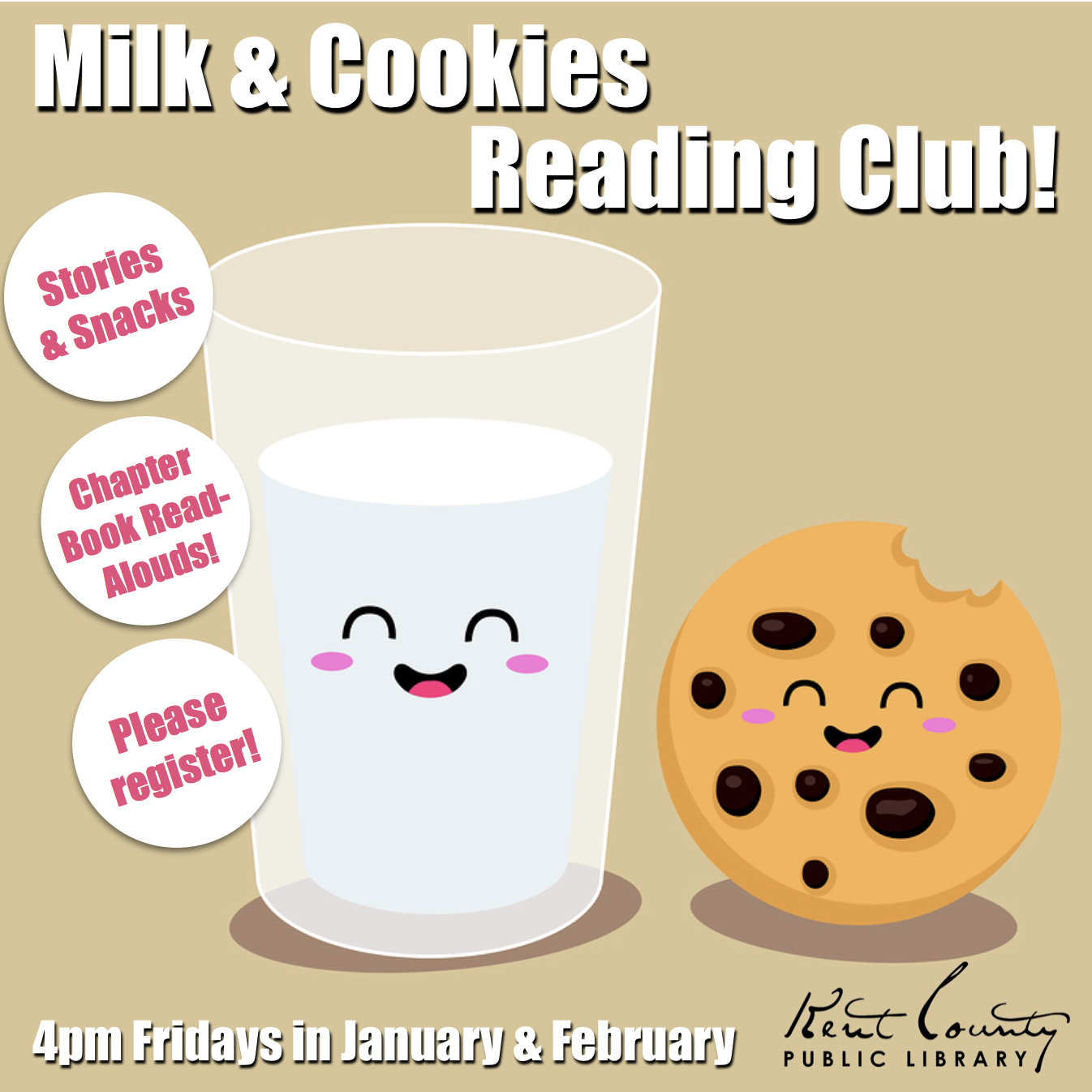 Milk and Cookies Reading Club!